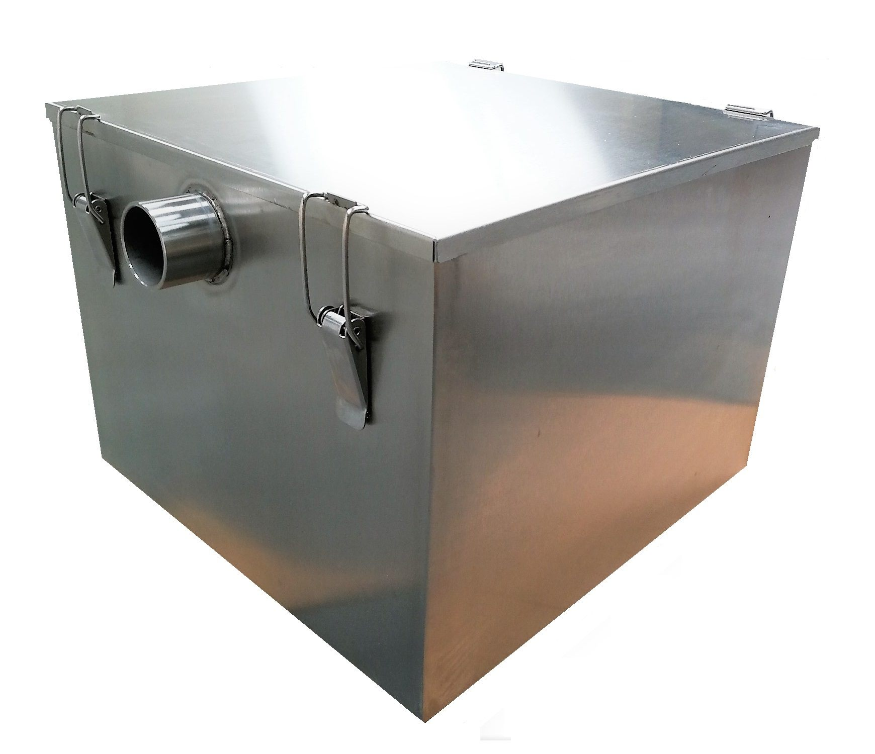Industrial Kitchen Grease Trap: 110 Ltr Stainless Steel Grease Trap